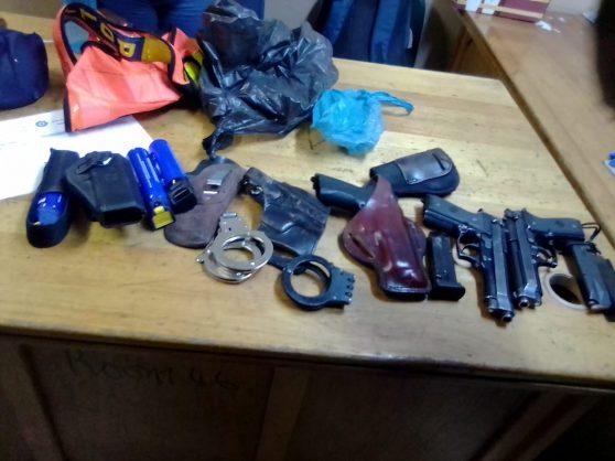 Arms cache discovered at Baragwanath Hospital