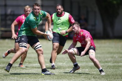 Rising rugby stars get chance to mix it up with the Boks