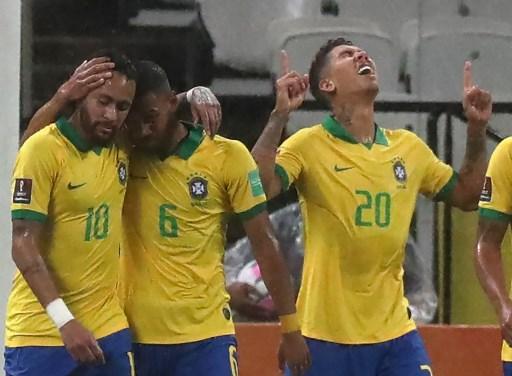 Brazil struggle to beat Venezuela without Neymar