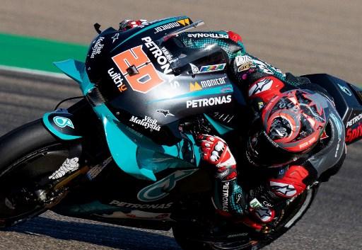 WATCH: Quartararo safe after heart-stopping high speed MotoGP crash