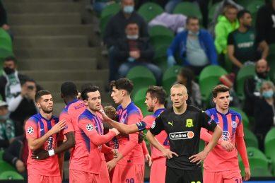 Ziyech hits first Chelsea goal in rout of Krasnodar