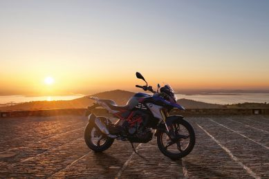 Going off-road with BMW's G 310 GS