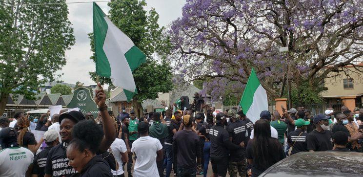 EFF call on SA govt, AU to address violence in #EndSARS protests