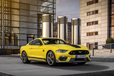 Ford Mustang Mach 1's terminal velocity lowered for Europe