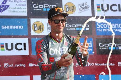 Mountain bike king Greg Minnaar back on top at Downhill World Cup