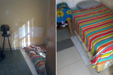 'How it started' bedroom revamp helps man receive donations on Twitter