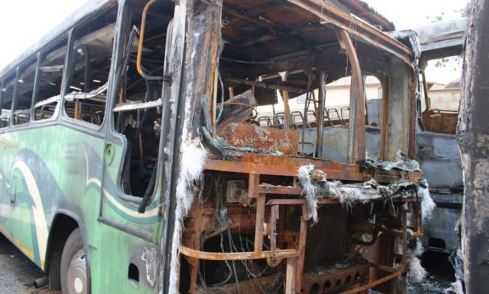 Arson leaves Durban bus company on the brink of ruin