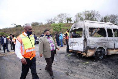 Horrific KZN accident death toll rises to 16