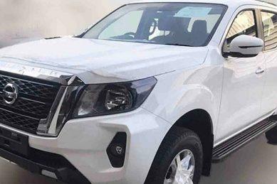 Titan inspired facelift Nissan Navara leaks