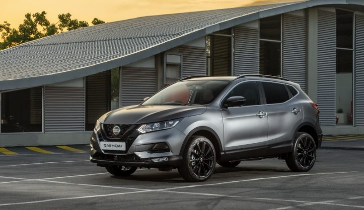 Midnight hour Nissan Qashqai emerges from the shadows