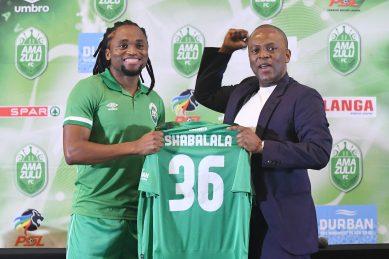 The thought of retiring never crossed my mind, says new AmaZulu recruit Tshabalala