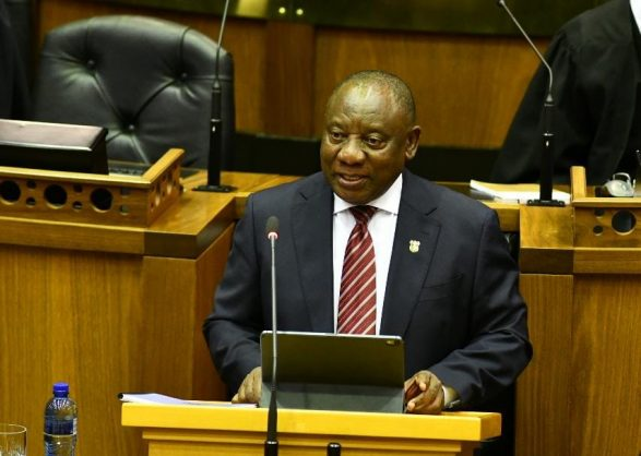 ANC leaders charged with corruption a matter for the ANC – Ramaphosa