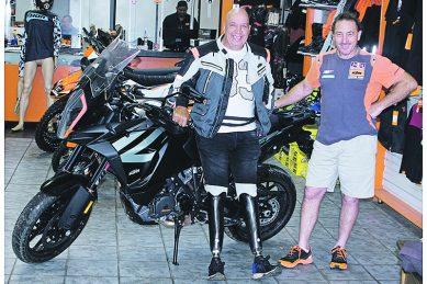Bushy McKelvey is still chasing world records