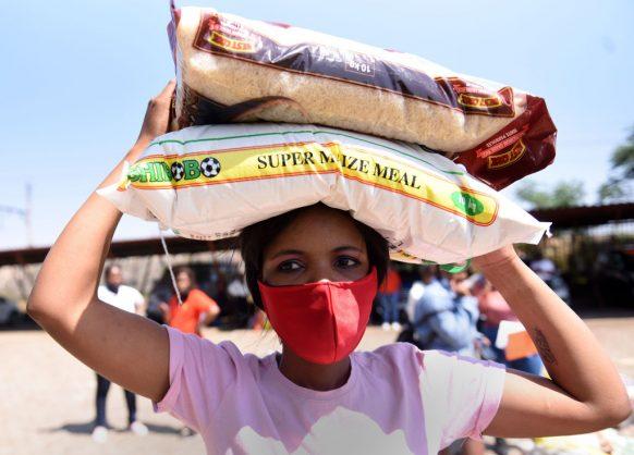 Soweto residents get 200 food parcels