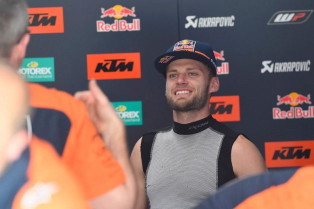 Brad Binder's star is steadily rising