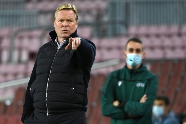 Koeman says Barca 'not serious' after missing two penalties in cup win