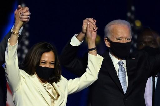 'Democracy has prevailed': Biden becomes 46th president