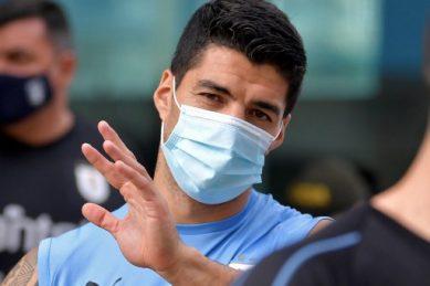 Luis Suarez to miss Brazil clash after positive Covid test