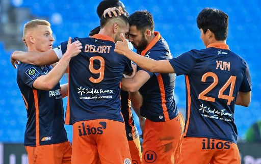Montpellier win thriller to move joint second in Ligue 1