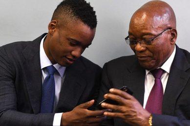 Duduzane Zuma kills it on the fashion streets