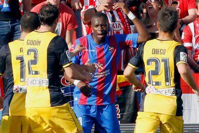 Levante's African stars continue Atletico's jinx