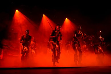 WATCH: Lyric theatre reopens with iconic 'Rhythms – The Gumboots' show