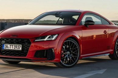 Audi powers-up TT S with Competition Plus