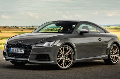 Special edition Audi TT favours bronze over gold
