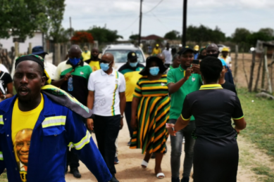 'Fictional' election poster the work of 'agent provocateurs', says ANC