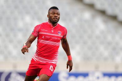 Chippa's Nigerian striker Kwem open to Bafana Bafana call-up
