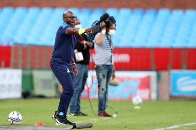 Komphela's consoling message to grieving Sundowns players