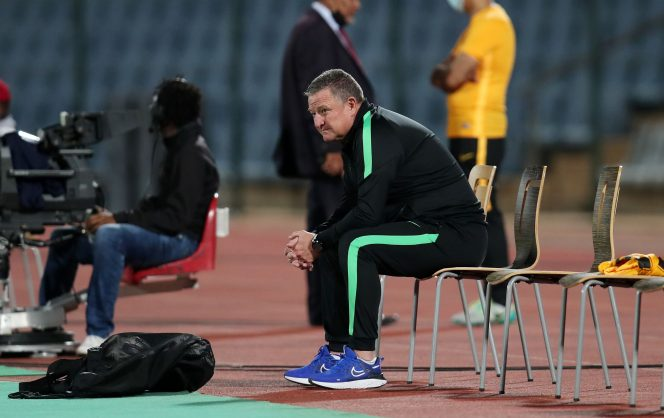 Hunt admits to intense pressure as Kaizer Chiefs coach