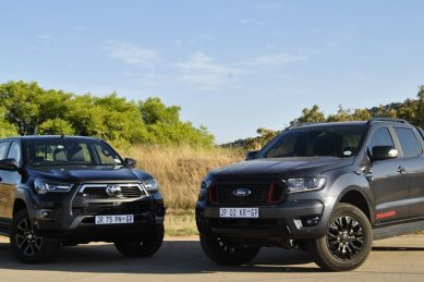 Which is quicker: Powered-up Toyota Hilux or Ford Thunder? The results are in
