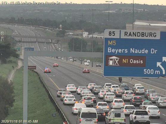 WATCH: Blockades, attacks, as the taxi strike brings Gauteng to a halt