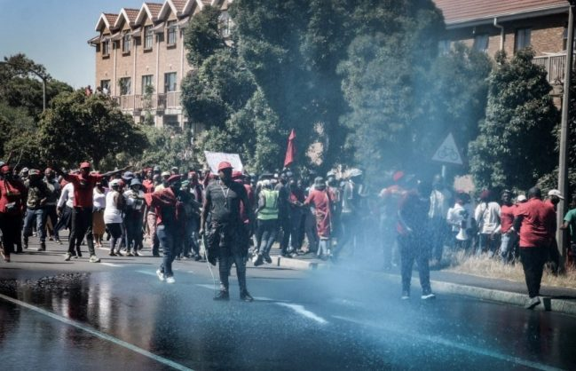 Cape Town wants EFF to pay for damages caused during Brackenfell protest