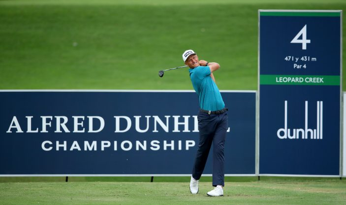 Meronk's second round 66 gives him a three-shot lead at Leopard Creek