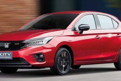 Hatchback Honda City shows its true self in Thailand