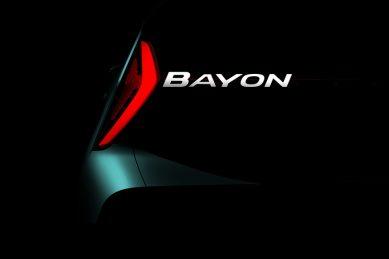 Newly confirmed and named Hyundai Bayon coming in 2021 as sub-Kona SUV