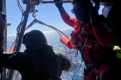 NSRI evacuates ill patient from deep-sea fishing trawler