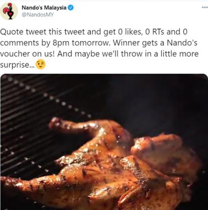 Nando's Malaysia heats up SA Twitter