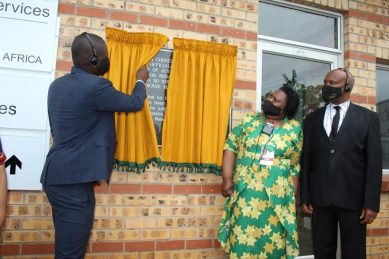Minister officially opens Tzaneen Correctional Centre