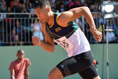 Wayde wins again, as local athletics returns in Potch
