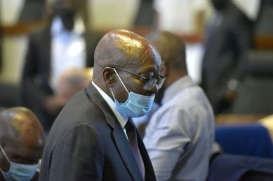 The actual arrest of Zuma is the test