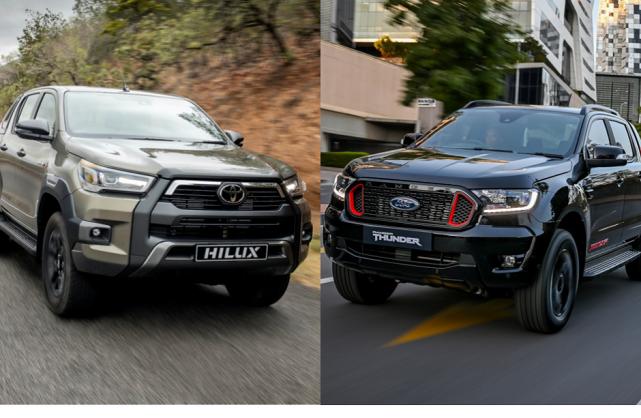Numbers battle: Toyota Hilux Legend RS v Ford Ranger Thunder