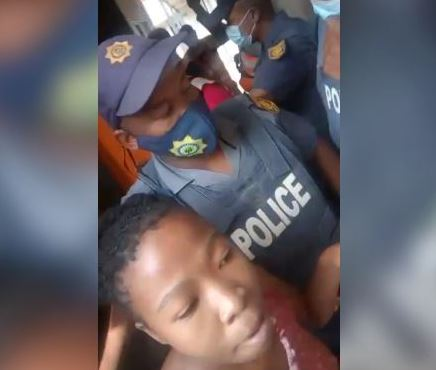 WATCH: Shots fired during Thembelihle eviction in Pretoria CBD