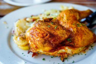 Easy one-pan spiced roast chicken recipe