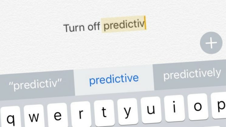 Yanks can't count… or predict your text