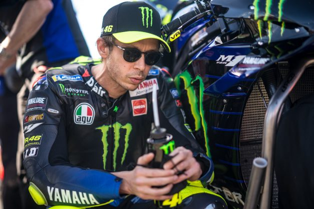 'Special moment' as Rossi set for emotional farewell in MotoGP finale