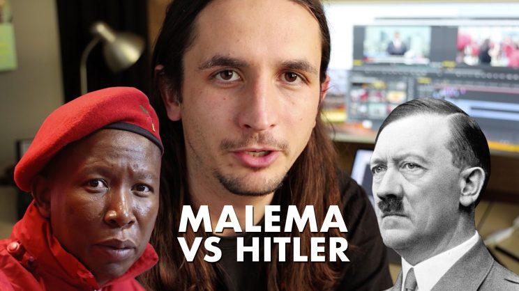 SA unites to drag The Kiffness after Malema-Hitler comparison