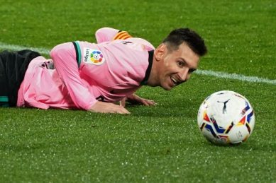 Messi double gives Barca renewed hope in La Liga title chase